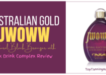 australian gold JWOWW natural black bronzer with ink drink complex review