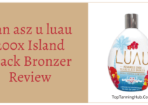 tan asz u luau 200x island black bronzer review
