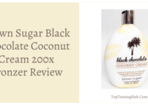 brown sugar black chocolate coconut cream 200x bronzer review