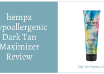 hempz hypoallergenic dark tan maximizer review